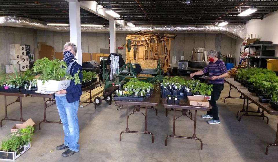 We've successfully transitioned our annual Plant Sale to online/pickup success,